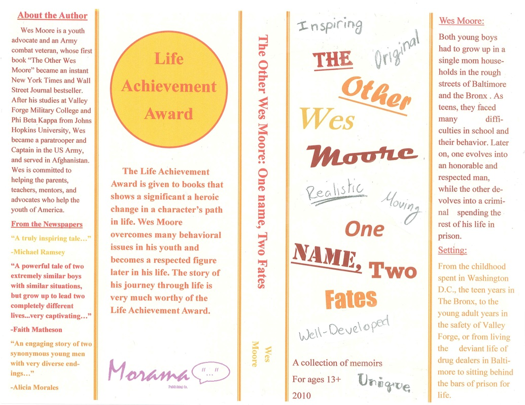 sparknotes the other wes moore one two fates foreshadowing ldquoit was years before wes s mom found out her son had been arrested that day by the time she did she had bigger things to think about